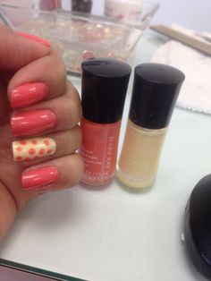 Carefree coral and lemon parfait! New Spring colors from Mary Kay. What a cute idea to combine these two new Mary Kay colors. http://www.marykay.com/jdemedeiros