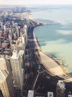 Best view in Chicago #beach #lakemichigan #95th #signaturerrom #chicago #bestview #hancocktower