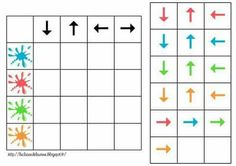 The Kid Giddy Craft, Giddy Up Friday: Sudoku Printables {math practice ideas} Library Activities, Autism Activities, Infant Activities, Learning Through Play, Kids Learning, Visual Perception Activities, Montessori Math, Worksheets For Kids, Kindergarten Math