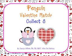 52 pages worth of freebie penguin fun! Letter matching, numbers and Valentine's penguins!!! Thank you, Carolyn.