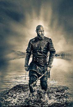 ragnar wallpaper by - 85 - Free on ZEDGE™ Vikings Tv Series, Vikings Tv Show, Viking Life, Viking Warrior, Viking Pictures, Viking Wallpaper, Ragnar Lothbrok Vikings, Vikings Travis Fimmel, Viking Series