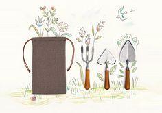 set girdinaggio #attrezzi #giardino