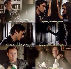 TVD 6x6 this was a sad time #delana