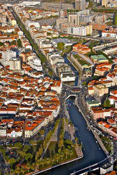 Aerial Aveiro, Portugal