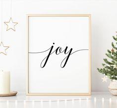 Joy Printable Art, Joy Sign, Home Decor Poster, Joy Wall Art, Inspirational Quote Printable Wall Art *INSTANT DOWNLOAD* Printing Websites, Online Printing, Printable Quotes, Printable Wall Art, Joy Sign, Office Printers, All Design, Inspirational Quotes, Printables