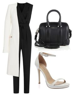 """Untitled #26"" by fellandarista on Polyvore featuring Jaeger, Thierry Mugler and Givenchy"