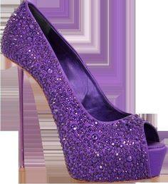 Gianmarco Lorenzi If I could wear high heels without breaking my neck! Purple Love, Purple Shoes, All Things Purple, Shades Of Purple, Purple Stuff, Pastel Purple, Dark Purple, Zapatos Shoes, Shoes Heels