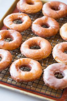 Krispy Kreme Doughnut Copycat Recipe | Cooking Classy