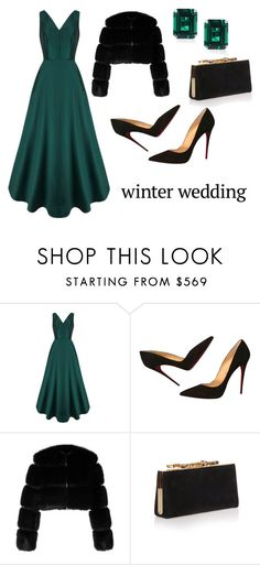 """""""Senza titolo #164"""" by tulipano89 ❤ liked on Polyvore featuring Christian Louboutin, Givenchy, Jimmy Choo and CARAT* London"""