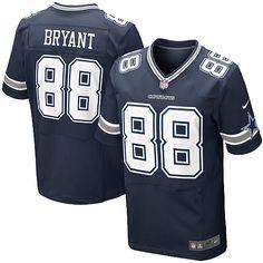 NFL Men's Elite Nike NFL Dallas Cowboys #88 Dez Bryant Team Color Jersey