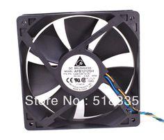 8.75$  Know more - Delta fan AFB1212SH 12CM 120MM 1225 12025 12*12*2.5CM 120*120*25MM  12V 0.80A Cooling Fan Good Quality   #buyonline