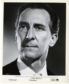 Peter Cushing as Dr. Christopher Maitland in The Skull (1965)