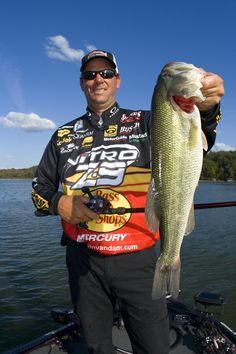 Kevin VanDam gets his confidence from knowing what he does will produce strikes