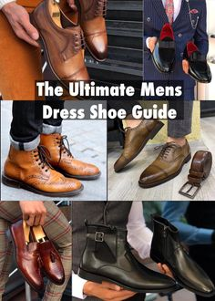 "The Anatomy and Men's Dress Shoe Styles to Support your Look It's necessary to have a perfect pair of shoes. You will always need to suit-up despite your routine style. They say ""opportunity favors the prepared"" – our mens dress shoe guide will do the same.  Today we want you to walk through this mens dress shoe styles guide and make a wise purchase decision. The available options will help you prepare for your best look. Let's see where we're headed…"