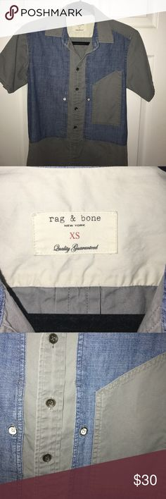 Rag and bone short Got it as saks fifth for $265 worn a few times rag & bone Shirts Casual Button Down Shirts