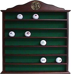 Golf Gifts & Gallery 49 Ball Mahogany Cabinet - Dick's Sporting Goods Golf Christmas Gifts, Mahogany Cabinets, Craft Presents, Golf Gifts, Golf Outfit, Gifts For Women, Holiday Decor, Happy Holidays, Fun