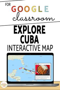 Take your students to a virtual field trip to Cuba with Google My Maps. On this tour your students will be able to explore, look around and watch videos and see pictures of delicious food, musicians, authors, and other culture in the country of Cuba! Learn about the history, language, and traditions of the country in English! Your middle school and high school students will love this fun activity! #spanishclass #secondaryspanish Middle School Spanish, Map Activities, Spanish Lesson Plans, Spanish 1, Spanish Classroom, High School Students, Me On A Map, Delicious Food, Cuba