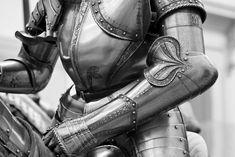 His armor