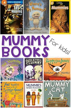 Mummy Books for Kids