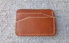 Leather Wallet-Minimalist Wallet-Slim by 4BlackbirdsStudio on Etsy