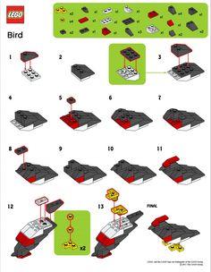 MiniBrickSpot  - Mini Brick Spot: LEGO Mini Bird shown here