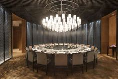 Looking for the Hyatt Regency Wuhan Optics Valley Wuhan ? Check our special offers and deals on our collection: My Boutique hotel Wuhan Oriental Restaurant, Chinese Restaurant, Restaurant Design, Restaurant Bar, Hotel Inn, Private Room, Wuhan, Table And Chairs, Regency