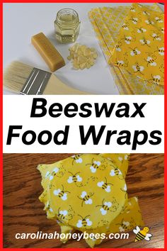 How To Start Beekeeping, Beeswax Recipes, Diy Beeswax Wrap, Flat Pan, Use Of Plastic, Bee Gifts, Big Kitchen, Save The Bees, Crafts To Make