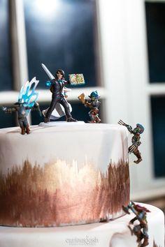 Matthew Mercer Wedding Cake