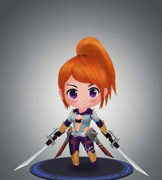 Chibi Wallpaper, Mobile Legend Wallpaper, The Legend Of Heroes, Art Drawings Beautiful, Chibi Characters, Alucard, Gaming Wallpapers, Mobile Legends, Cute Designs