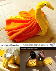 Towel Animals – The Land Beyond the Rainbow
