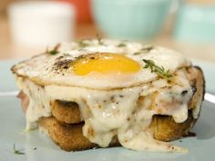 Top your Croque Monsieur with an egg and you've got a Croque Madame -- a perfectly acceptable breakfast recipe.