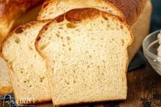 The best homemade bread! Soft, chewy sourdough bread with a beautiful golden brown crust. This easy homemade bread recipe makes two loaves and is the perfect white sandwich bread. Easy Sourdough Bread Recipe, Sourdough Starter Discard Recipe, Best Homemade Bread Recipe, Easy Bread, Sourdough Rolls, Sourdough Pancakes, Homemade Breads, Bread Rolls, Kefir Recipes