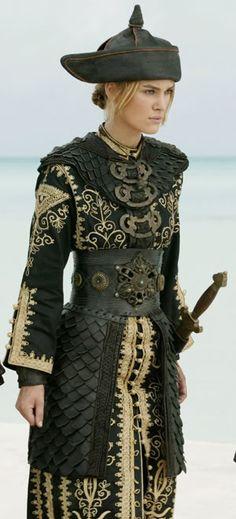 Elizabeth Swann Costume - Pirates of the Caribbean. my favorite costume ever