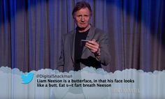 Liam Neeson, George Clooney, & More Read Mean Tweets In Front Of A Live Audience | Above Average