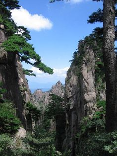 L'angolo della Geologia: Huangshan Mounts