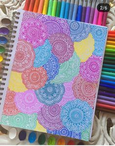 how to draw things Easy Doodle Art, Doodle Art Designs, Doodle Art Drawing, Zentangle Drawings, Mandala Drawing, Art Drawings For Kids, Art Drawings Sketches Simple, Dibujos Zentangle Art, Mandala Art Lesson