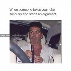 When Someone Takes Your Joke Seriously And Starts. ~ Memes curates only the best funny online content. The Ultimate cure to boredom with a daily fix of haha, hehe and jaja's. Funny Quotes, Funny Memes, Hilarious, Jokes, Gym Memes, Gym Humor, Workout Humor, Just For Laughs, Laugh Out Loud