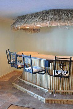 Indoor Tiki Bar
