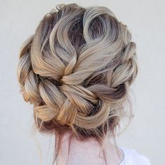braided updo ~ we ❤ this! moncheriprom.com