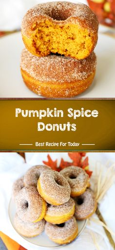 Ingredients 1 Spice Cake Mix 2 eggs cup oil 1 can pumpkin 15 oz Cinnamon sugar topping cup sugar 2 tbsp cinnamon cup butter melt. Pumpkin Recipes, Fall Recipes, Holiday Recipes, Healthy Recipes, Köstliche Desserts, Delicious Desserts, Dessert Recipes, Brunch Recipes, Canned Pumpkin