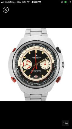 Hamilton Watch Company, Watch Companies, Breitling, Chronograph, Watches, Accessories, Clocks, Clock