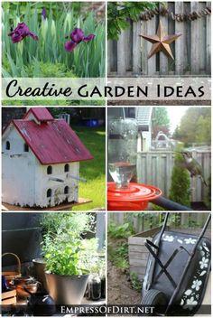 Creative Garden Ideas at empressofdirt.net