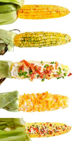5 better-than-butter toppings for grilled corn. Corn is really budget-friendly!