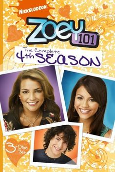 Zoey 101: The Complete Fourth Season DVD ~ Jamie Lynn Spears