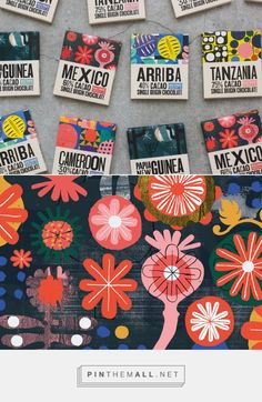 Macondo Chocolate Co packaging design by A-Side Studio - http://www.packagingoftheworld.com/2016/10/macondo-chocolate-co.html