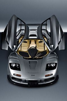 Butterfly doors amazing interior McLaren F1. Oh and dont forget engine bay lined with gold
