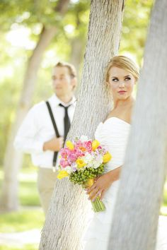Inspirational Wedding Day Photography ♡ Must Have Wedding Photos - Bride and Groom Wedding Pictures | Wedding Planning, Ideas & Etiquette | Bridal Guide | Pose Ideas