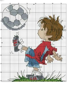 Cross Stitch Numbers, Cross Stitch Cards, Cross Stitching, Cross Stitch Embroidery, Tiny Cross Stitch, Cross Stitch For Kids, Cross Stitch Kits, Baby Motiv, Stitch Doll