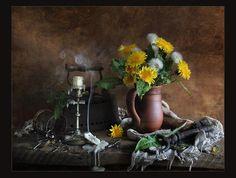 Still Life Art Of Flowers | Still life, art, candle, flower, flowers, photography, smoke, wall
