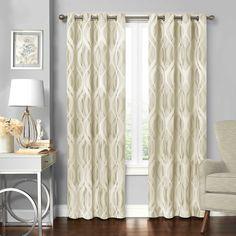 Solar Shield® Balencia Grommet Room Darkening Window Curtain Panel